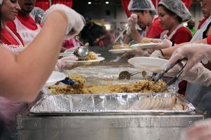 volunteer feast giving back Children Central