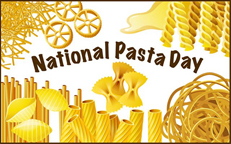 national pasta day october 2018