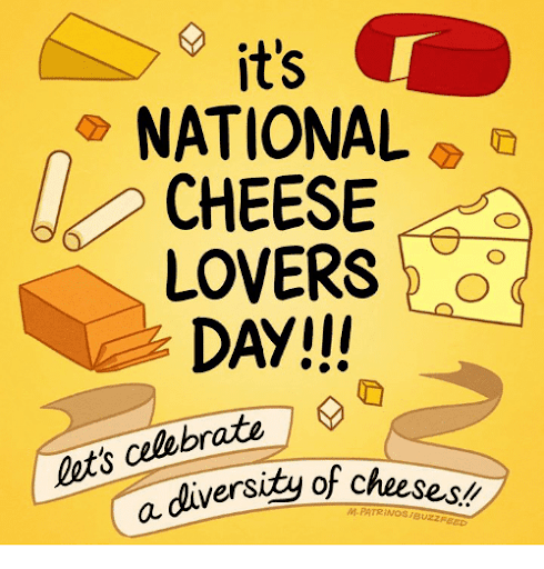 cheese day poster